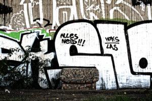 Graffiti Alles Neid